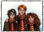 Golden Trio by Muirin007