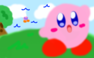Happy Birthday / Anniversary Kirby by SkyWarriorKirby