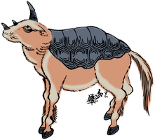 Clipart Suisai(Indian Rhinoceros) by hansendo