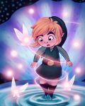 Fairy Fountain by peanutfilbert
