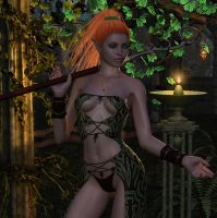 Wood Elf by parrotdolphin