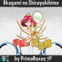 Akagami no Shirayukihime Anime Icons by PrimaRoxas