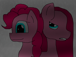 both sides of pinkamena diane pie ANIMATION by invadercat01