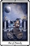 Tarot - Four of Pentacles by azurylipfe