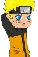 Chibi Naruto Coloured by amanda00014
