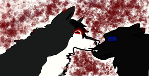 Untitled Drawing by blackwolf56789