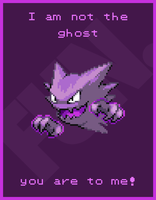 Haunter having a little Fun. by Ommin202