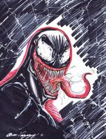Venom marker sketch by MetaWorks