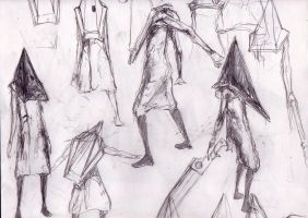 150 - Pyramid Head practice by Dalicris
