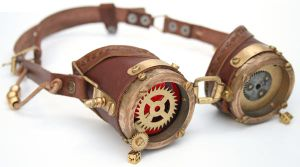Steampunk Goggles 5 by AmbassadorMann