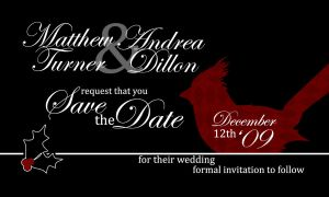 Save the Date by amdillon
