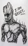 I AM GROOT by ShawnnL