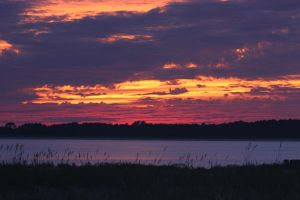 Seabrook Sunset III by Deidreofthesorrows