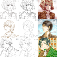 Switcharound Meme (bon-leo-bii) Attack on Titan by p1z