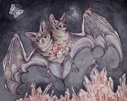 two headed bat by CaitlinHackett
