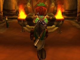 World of Warcraft - Kneeling before Thrall by Gery850