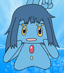 Dawn TFed into a Manaphy by laprasking