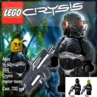 crysis out on lego by R-Clifford