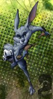Bunnymund by Japandragon