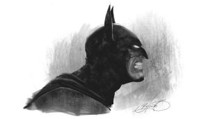 Batman by Binoched