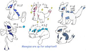 Mewgia Adoptables- CLOSED by SkittyKittyCat