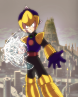 Megaman Killer Enker by General-RADIX