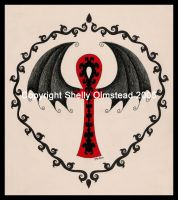 Gothic Ankh by PoisonAlice