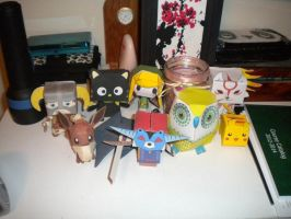 Papercraft Collection '12 by ChippewaOkami