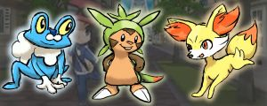 New Pokemon starters! by OneLifeRemaining