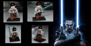 Force Unleashed 2 - Lego Starkiller by LD-Skull