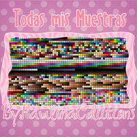Todas mis Muestras para PhotoShop by PauLinaEdiitions
