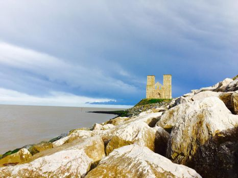 Reculver Tower by Oliver-The-Owl