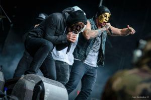 Hollywood Undead (Park Live) by BalVan1989
