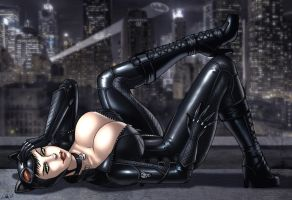Catwoman by CerberusLives