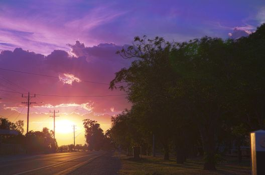 Another Counrty Sunset by rollinginsanity