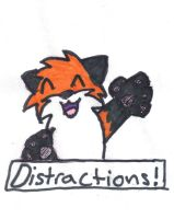 Distractions! by loofytehfox