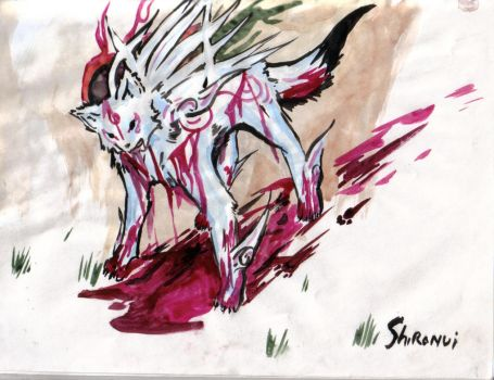 Shiranui is a bloody mess... by Window-Climber