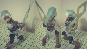 Oni Link Papercraft by ganon-destroyer