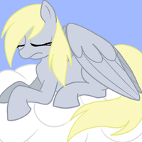 Derpy Sleeping by TheRebelPhoenix