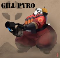Gill Pyro by gillpanda