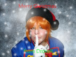 Merry Christmas From Drocell by Gaarassin