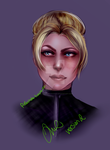Cassie Cage REdrawn by yatsuakumahichigo