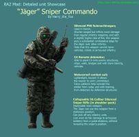 RA2 Mod- Jager Sniper Commando by Harry-the-Fox