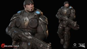 Gears Of War: Ultimate Edition - Marcus Fenix by DecadeofSmackdownV3