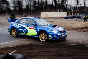 Subaru Impreza - almost WRC by redsunph
