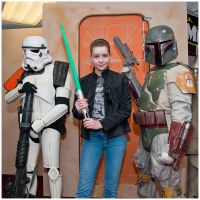 Me and Boba Fett + Sand Trooper by Jedi-Solo