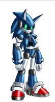 Mecha Sonic: SATAM design by zeiram0034