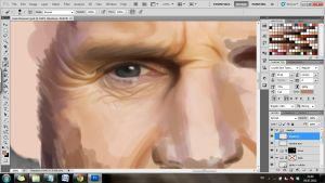 Hannibal Smith WIP close up by Lasse17