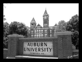 Auburn Welcomes You... by MattOnADinosaur