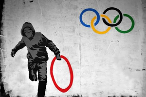 Olympic Grafitti by Pyro234